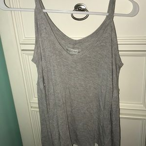 Abercrombie and Fitch Gray Off the Shirt